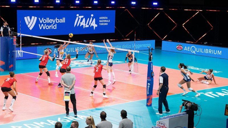 La VNL 2021 per le giovanissime atlete guidate da Giulio Bregoli FONTE: facebook.com/FederazioneItalianaPallavolo