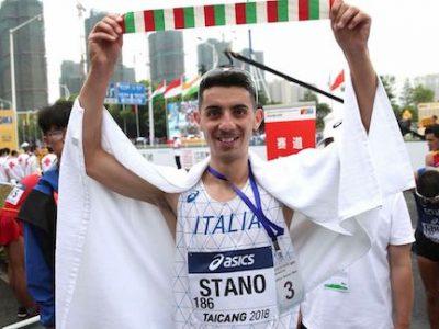 Olimpiadi Tokyo 2020 stano oro marcia 20km massimo stano giochi olimpici olympics gold race walk walking campione olimpico