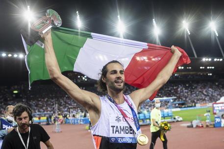 atletica diamond league 2021 zurigo gianmarco tamberi diamante oro atletica leggera athletics salto in alto high jump finale final
