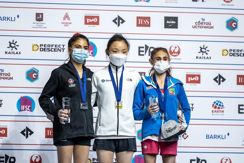 Laura Rogora sul podio mondiale